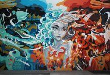 yu-baba street art