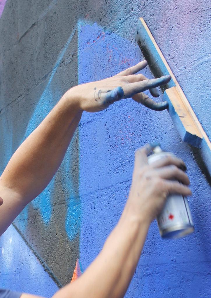 Etnik σύμπαν street art