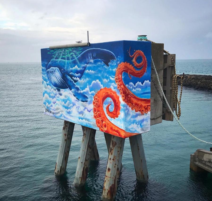 mike makatron street art