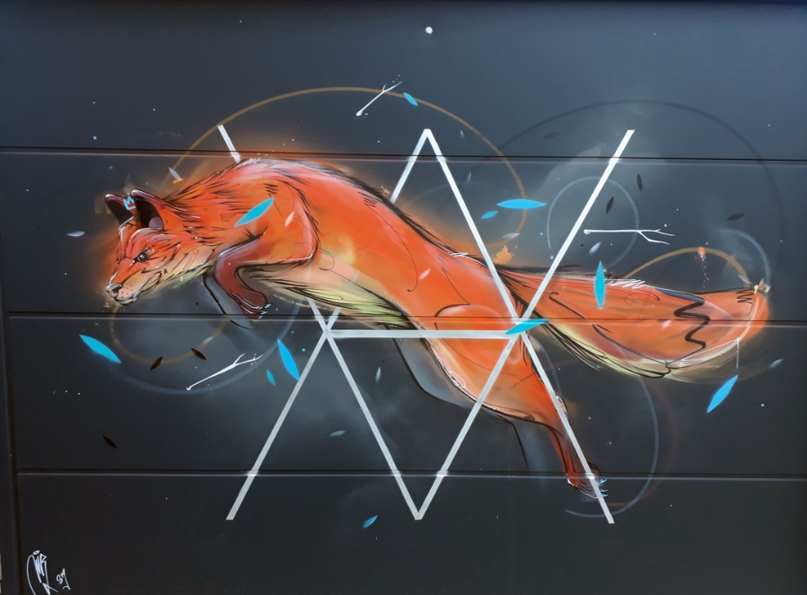 Mr X street art world animal day