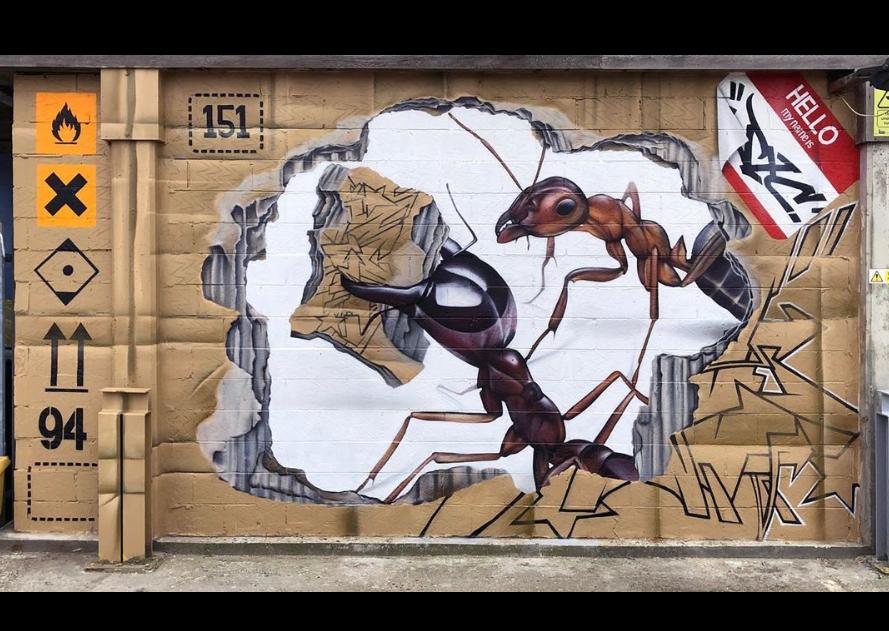 jxcdesigns street art world animal day