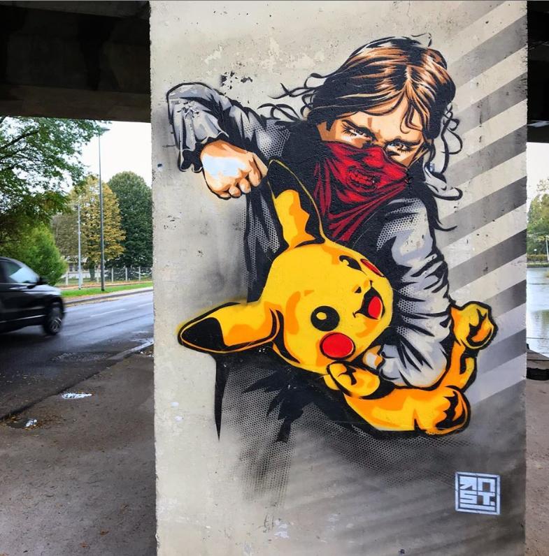rnst art street art
