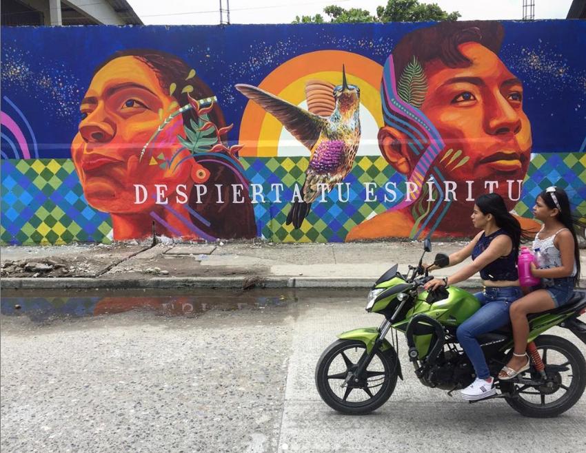 guache art street art
