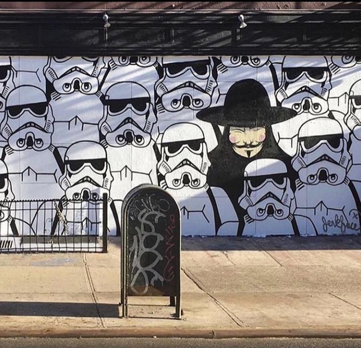 Jerkface street art
