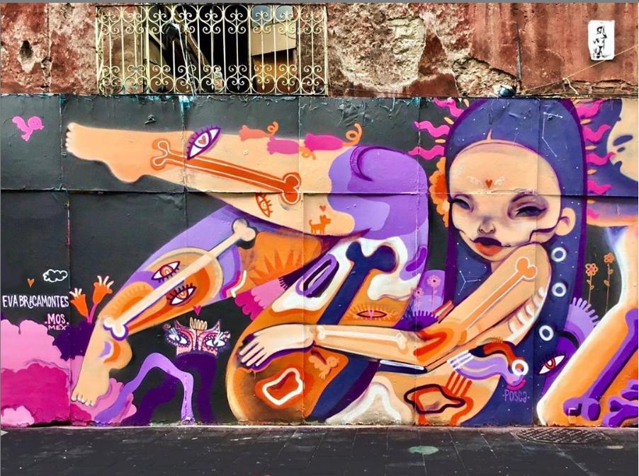 eva bracamontes street art