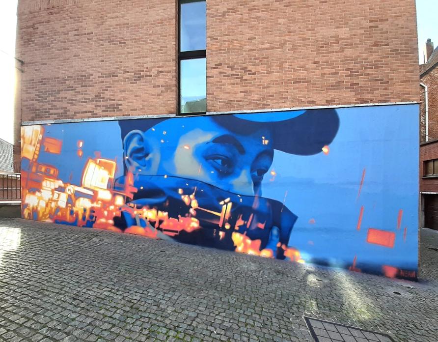 nean street art