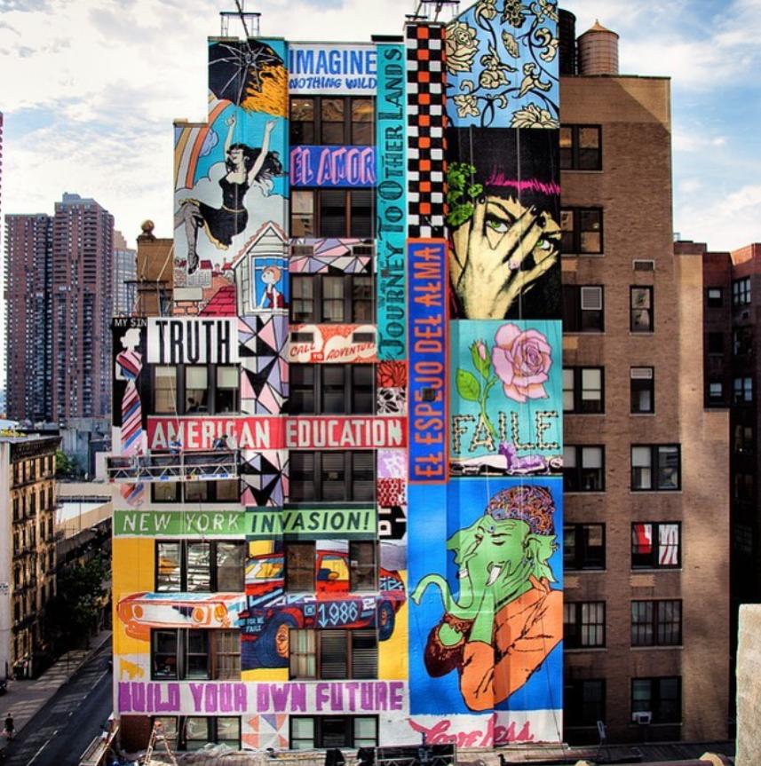 colossal media street art