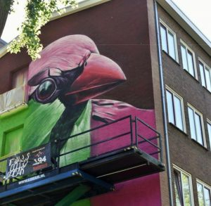 dopie street art animal amsterdam