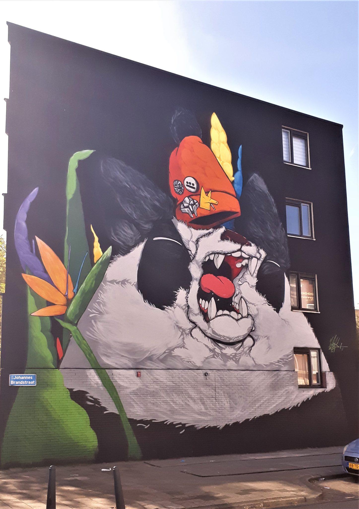 woes pow wow street art rotterdam