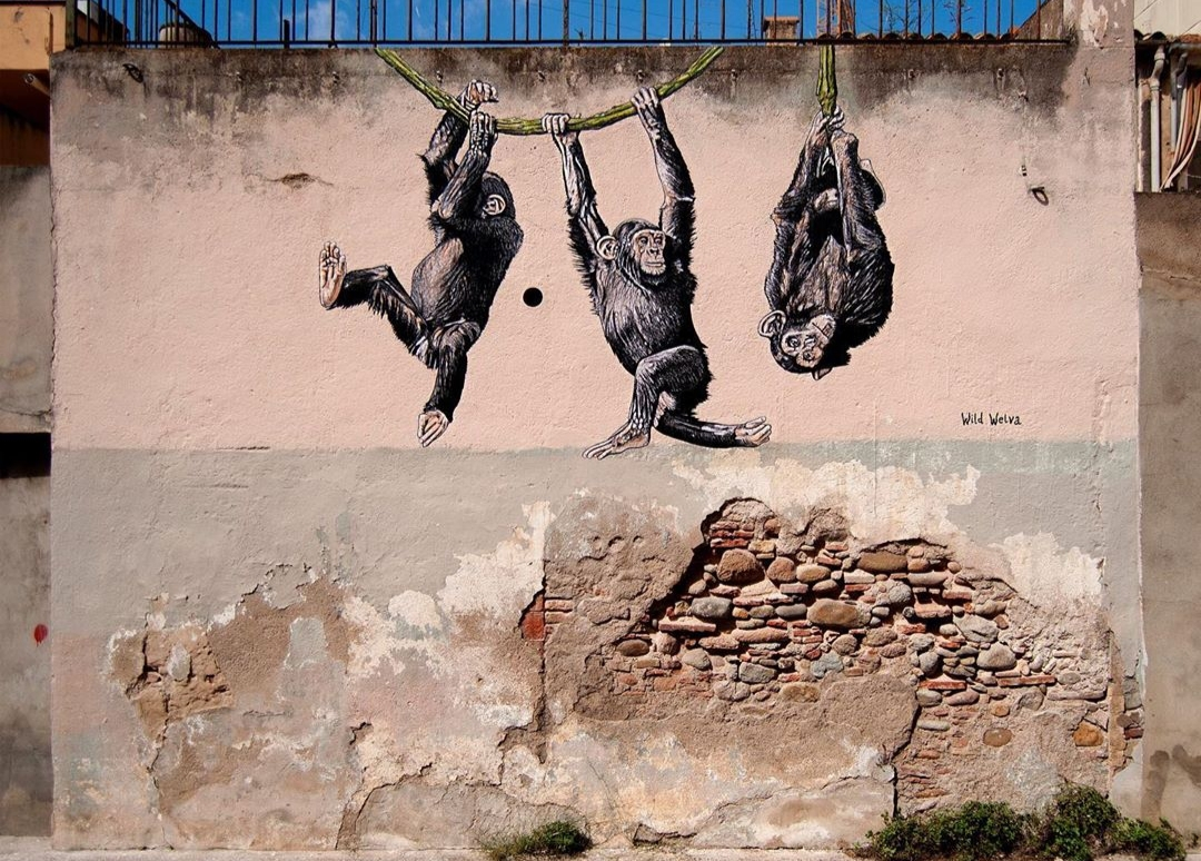 wild welva street art