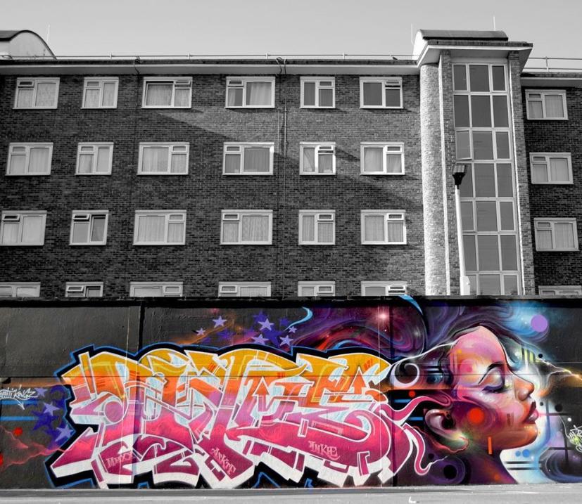 mr cenz inkie graffiti kings street art