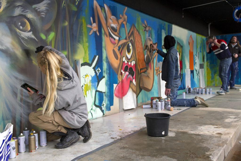 studio yasja tiktoy street art