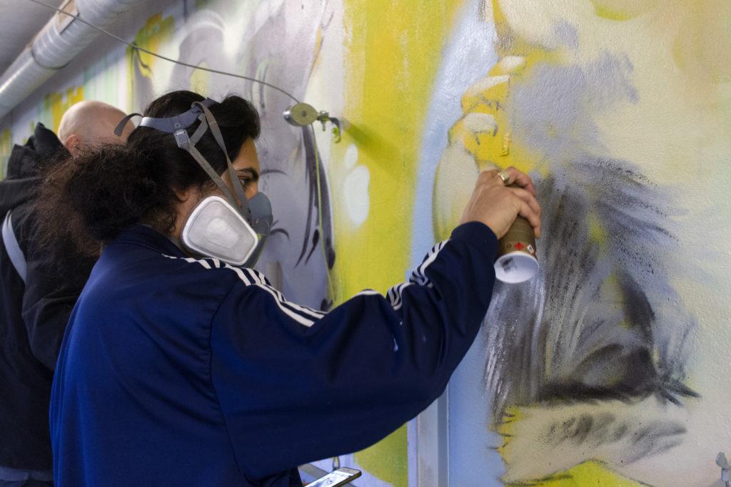 combolution street art doa