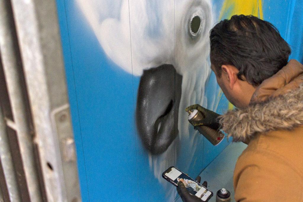 nicky nina street art graffiti