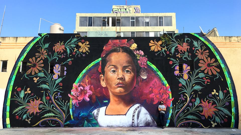 amsterdamstreetart 2018, Mural Mexico Alex Tadlock