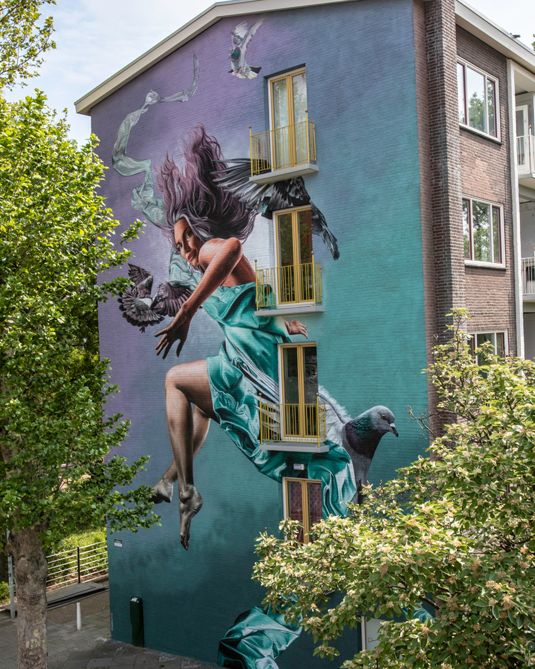 "Studio Giftig for ""If Walls Could Speak"" festival by Amsterdam Street Art"