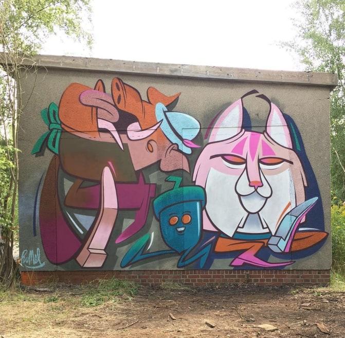 dannyrumbl street art
