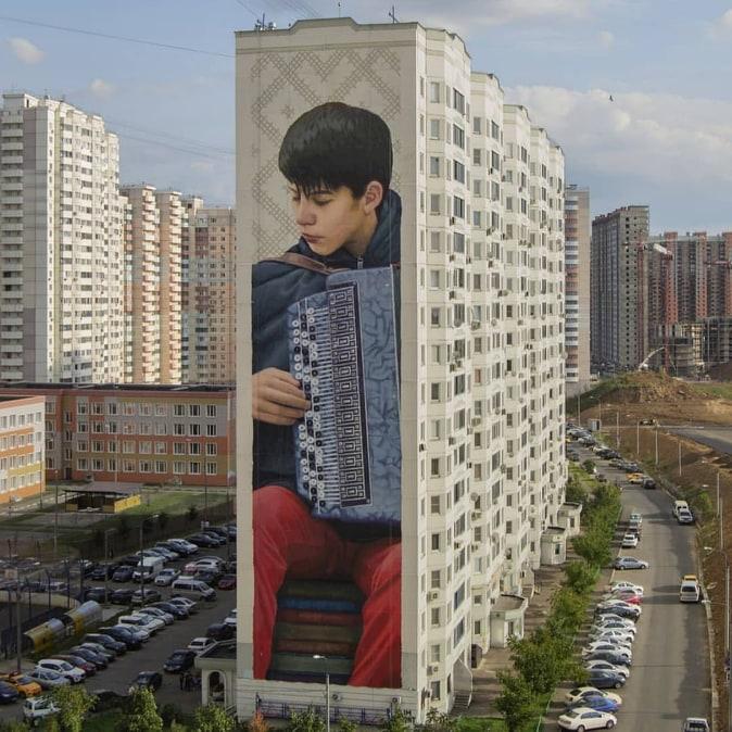 street art slimsafont russia