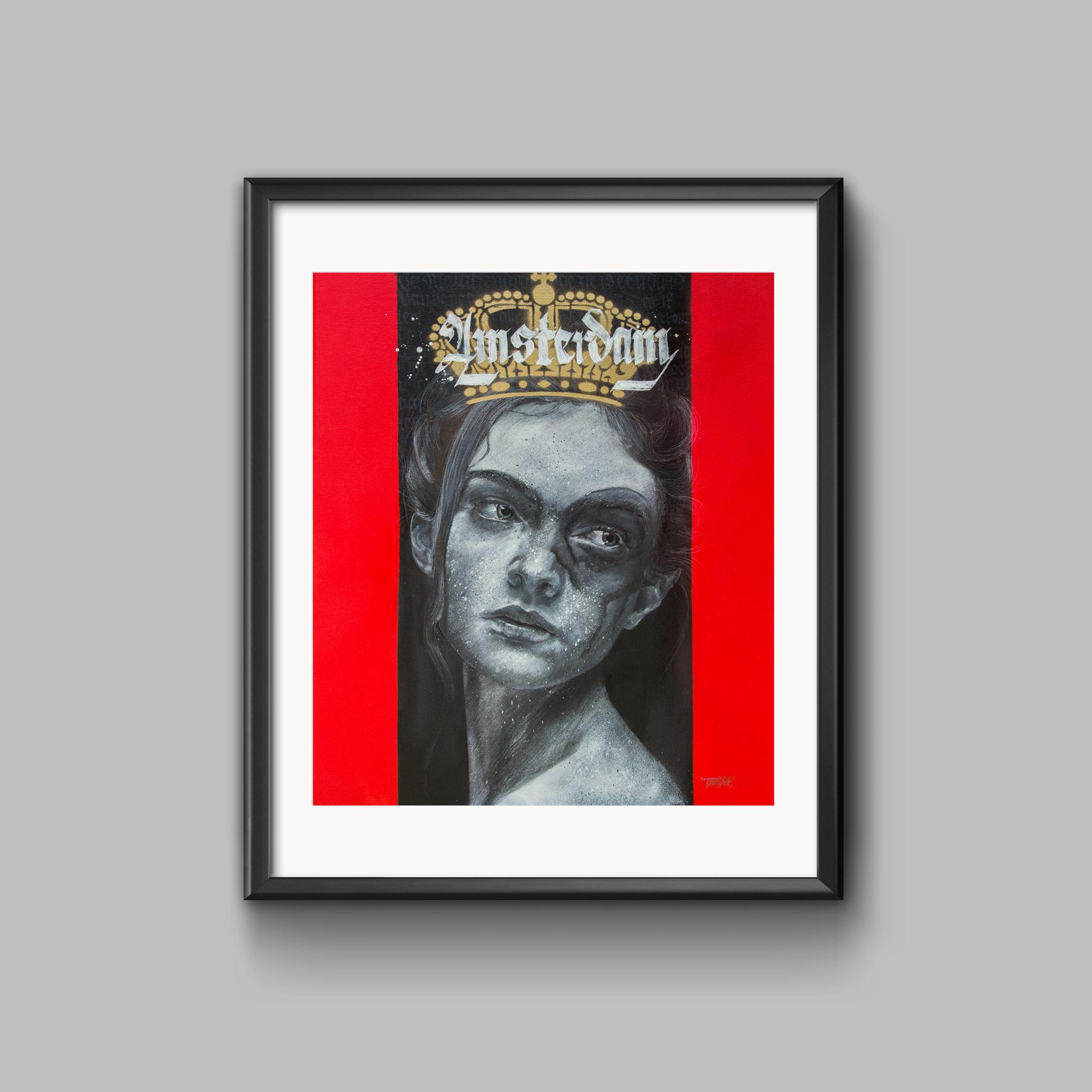 amsterdamstreetart 2018, Print serie Amsterdam Alexander Tadlock