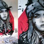 Street art artist Amsterdam