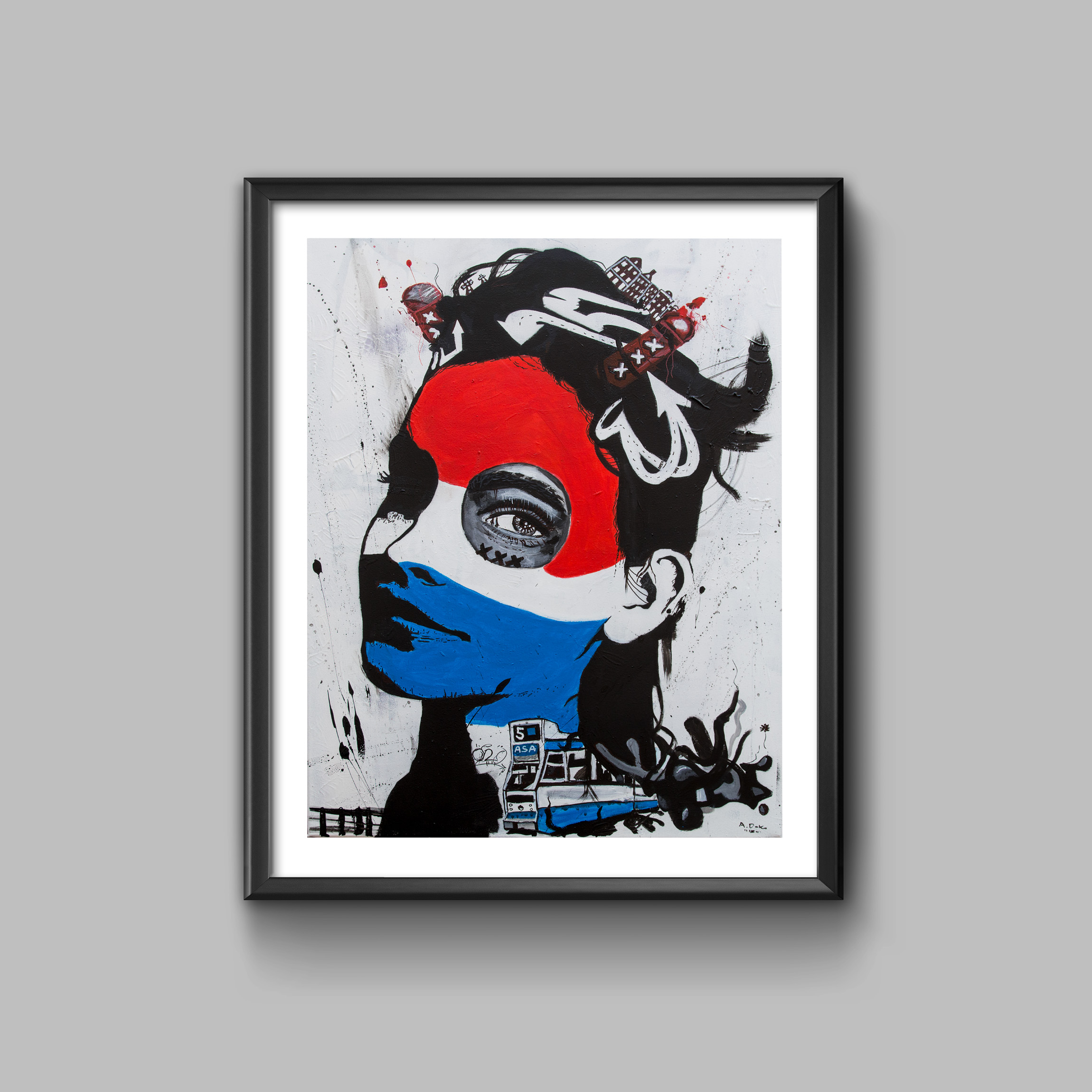 Amsterdamstreetart 2018, Print