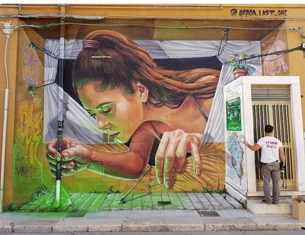 Braga last1 street art
