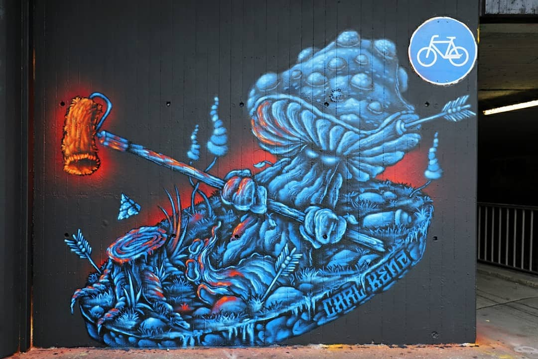 Carl Kenz street art