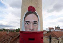 La Chulapa - Gerada in Madrid street art