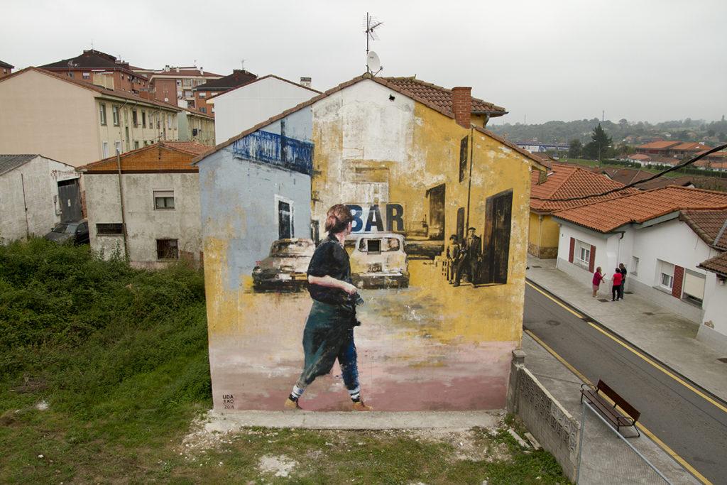 Udatxo Parees Fest Street art