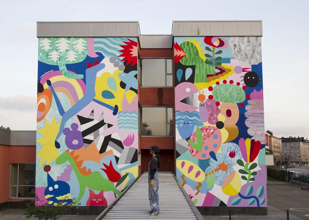 Mina Hamada Parees Fest street art