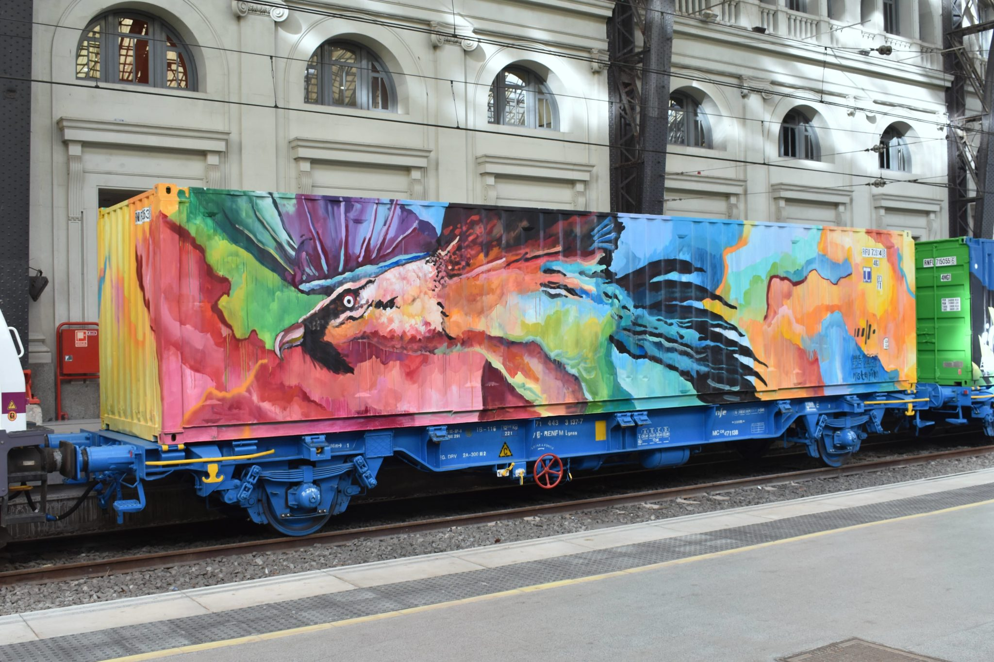 Misterpiro Noah's Train Street art