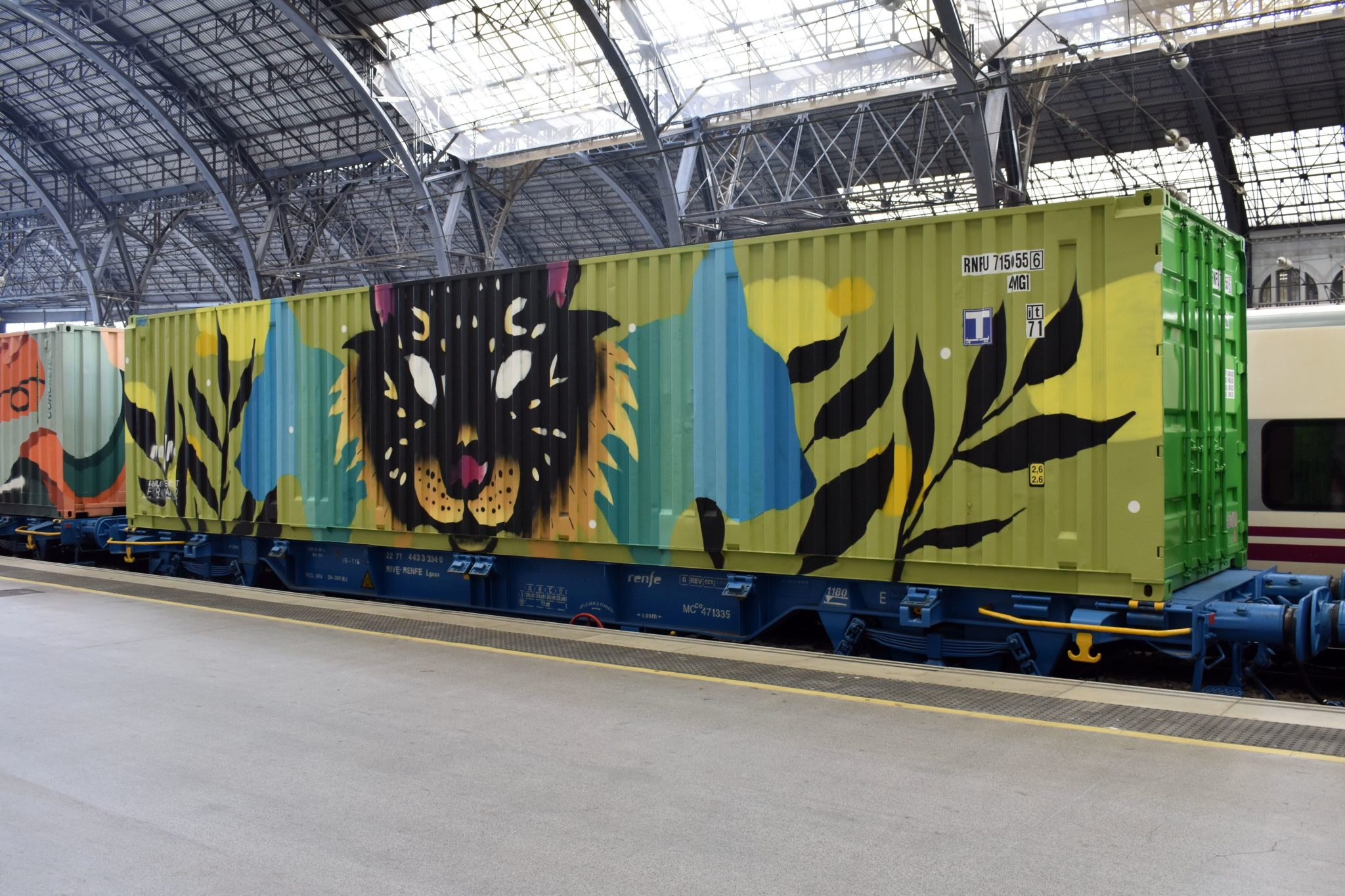 Sabek Noah's train street art