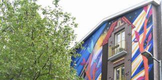 Julieta XLF street art amsterdam festival