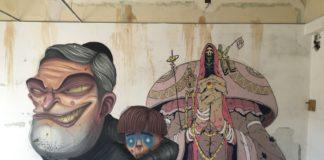 DavidL & Jay Bisual street art