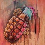 Amsterdam Street Art, Dopie, street art, contemporary art, graffiti,
