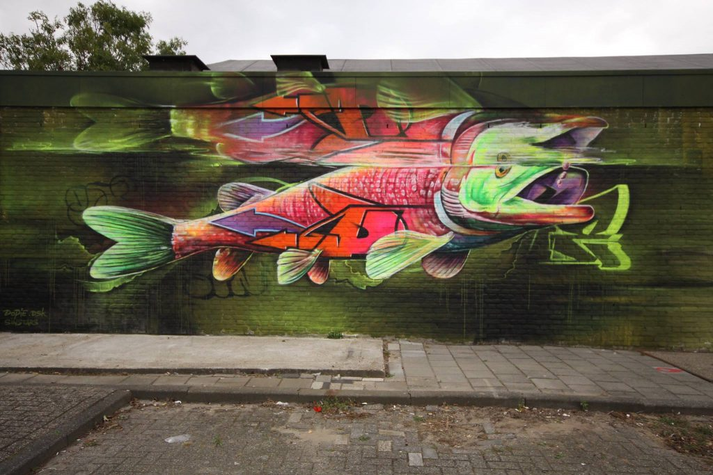 Amsterdam Street Art, Dopie, street art, contemporary art, graffiti,