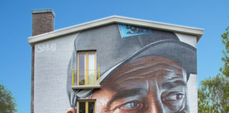 "SMUG for ""If Walls Could Speak"" festival by Amsterdam Street Art Photo by No Grey Walls"