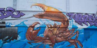 IJmuiden, graffiti, halkade, street art, Amsterdam Street Art, mural, muurschildering