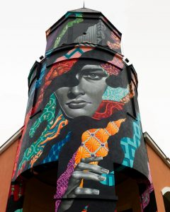 tristan eaton tower moscow street art