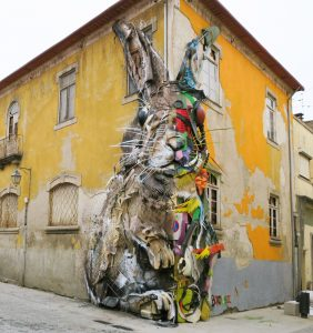 b0rdalo street art bunny