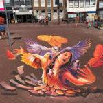 Street art, graffiti, anamorphic, 3d, arnhem, city, Amsterdam Street Art