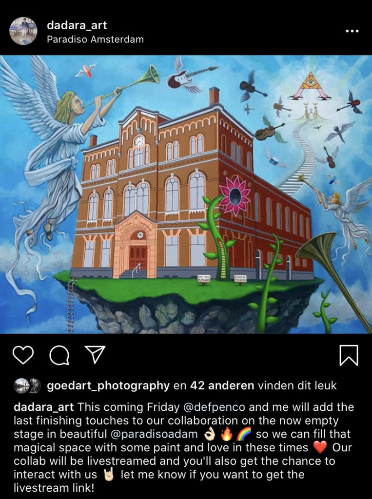 Def P & DADARA Naar de Gallemiezen, an Amsterdam Love story exhibition by Amsterdam Street Art