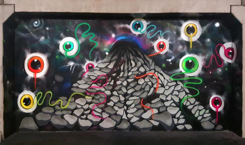 sjem bakkus street art