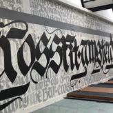 calligraphy TeamBlazin artist