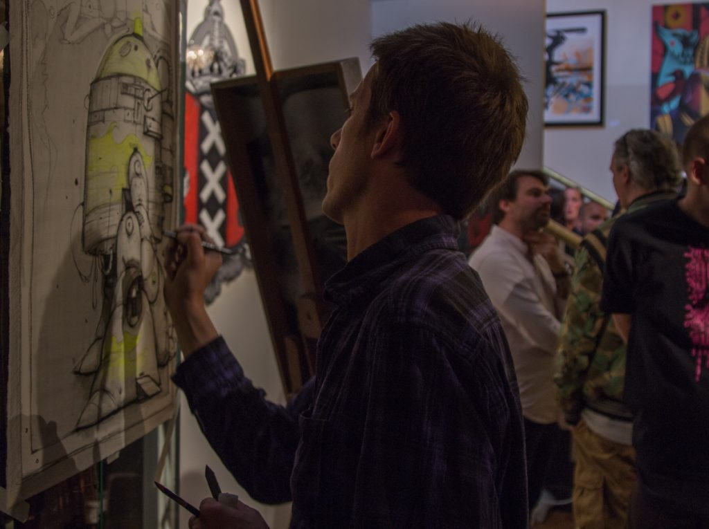 live painting, exhibition, street art, serge kb