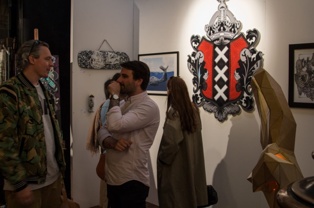 live painting, exhibition, street art, beazarility, telmomiel, sjembakkus