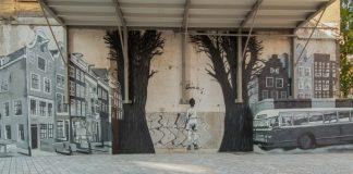 Mural, muurschildering, street art, Amsterdam Street Art, Rochdale, Hogeschool van Amsterdam