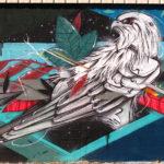 Mr X france street art graffiti wall spray paint