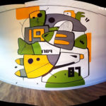 amsterdam street art ottograph walls art colors abstract