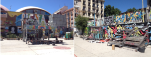 Farewell to one of the most relevant spots in Madrid's street art history